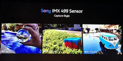 Hasil foto dengan sensor Sony IMX 499