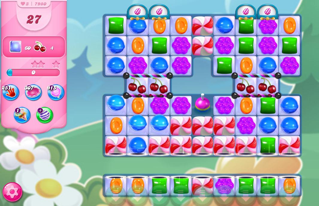 Candy Crush Saga level 7980