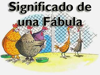 significado de una fabula