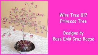 Wire Tree 017 - Princess Tree