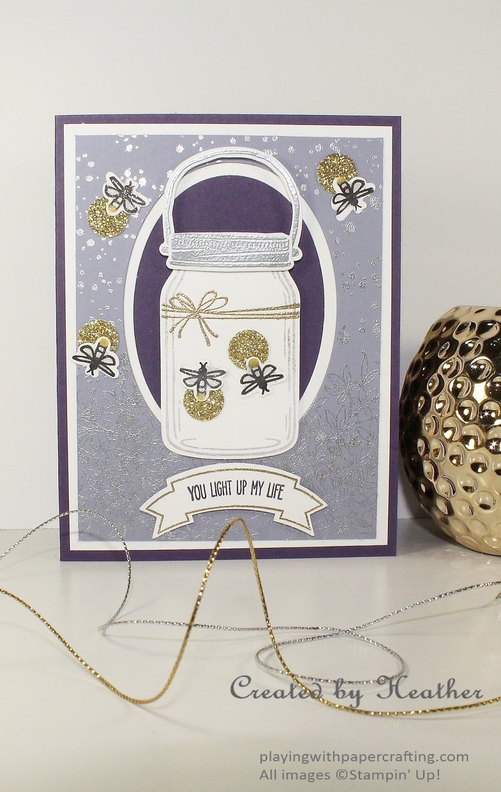 Playing With Papercrafting Fireflies And Bucket Lists For Freshly