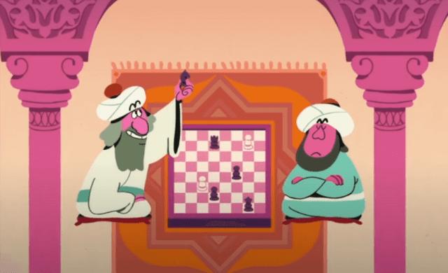 بدأ الشطرنج في الهند
