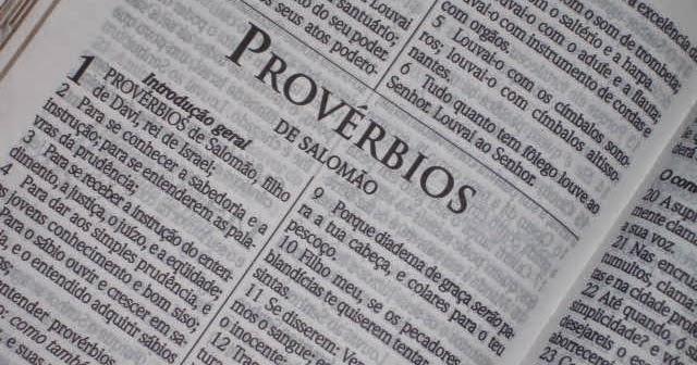 Série: Notas Sobre Provérbios - Prefácio