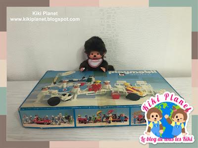 kiki Monchhichi playmobil jouet toys vintage