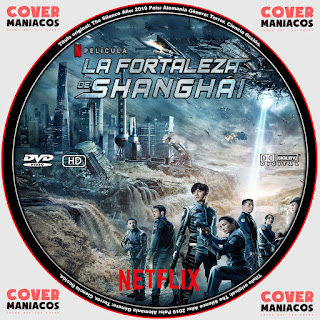 GALLETA LA FORTALEZA DE SHANGAI - SHANGAI FORTRESS 2019[COVER DVD]