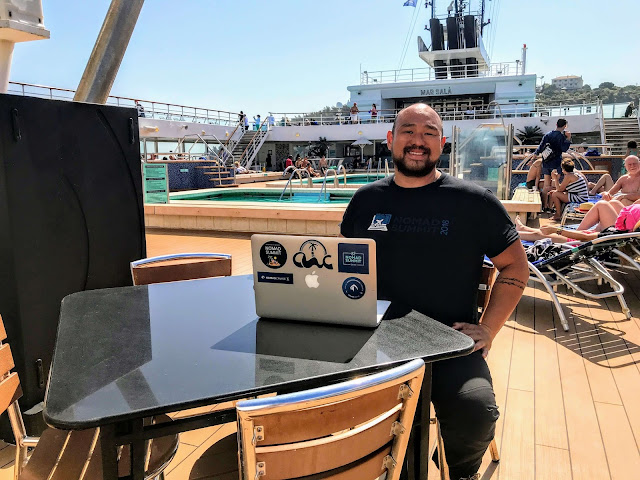digital nomad cruise