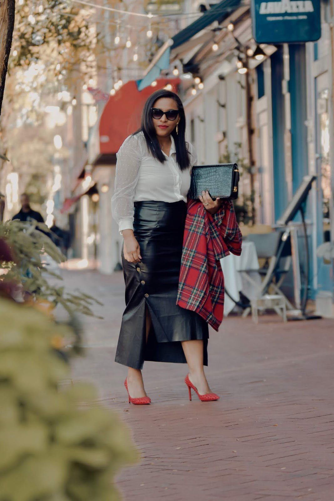 Femme luxe, luxe gal, pattys kloset, holiday outfit ideas