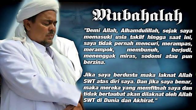 Ini Daftar Korban Mubahalah Habib Rizieq menurut Warganet