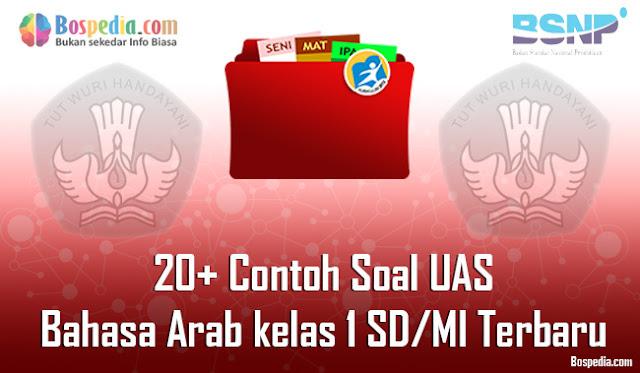 20+ Contoh Soal UAS Bahasa Arab kelas 1 SD/MI Terbaru