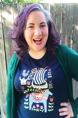 Carissa Berg also known as Carissa Bonham - an award winning millennial author and blogger with purple hair