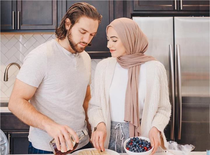 Muslim Romantic Couple
