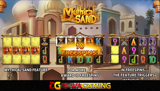 Joker Gaming Mythical Sand 20 Ribu
