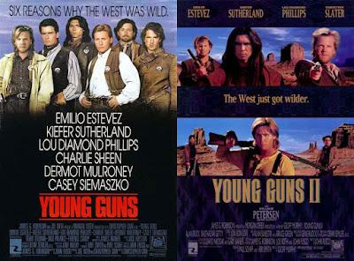 Dunia Sinema Review Young Guns I dan II