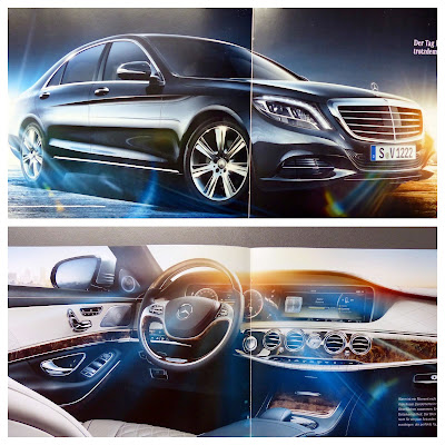 New Mercedes S-Class Brochure is on Internet