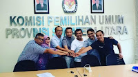 Herdensi Terpilih Sebagai PAW Ketua KPU SUMUT 2019-2023