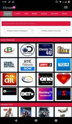 تطبيق XtrimTV IPTV للأندرويد, XtrimTV IPTV apk, تحميل قنوات بي ان سبورت للاندرويد, تطبيق بين سبورت بث مباشر, تحميل قناة بين سبورت بث مباشر, تطبيقات مشاهدة القنوات الرياضية