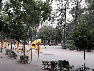 Children Park At India Gate