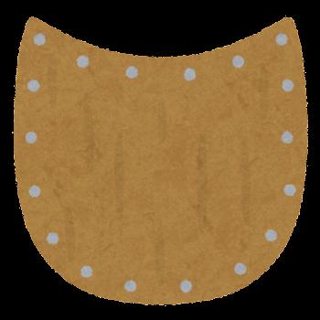 ペルタのイラスト(盾)