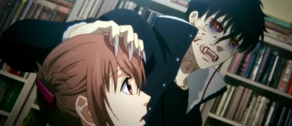 series anime de vampiros