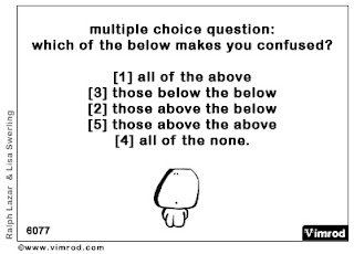 It Can Only Happen to Sarah!: Life's multiple choice