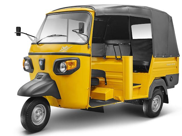 Modelos Piaggio de três rodas ganham novos motores - Índia