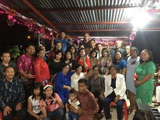 """""""Dapa Inga Kampung Halaman"""" di Natal Rukun Tondangow Tomohon di Sorong"""