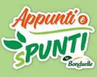 "Concorso ""Appunti e Spunti by Bonduelle"" 2021-2022 : vinci gratis shopping card fino a 50€"