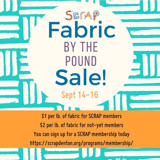 Fabric Sale at Scrap