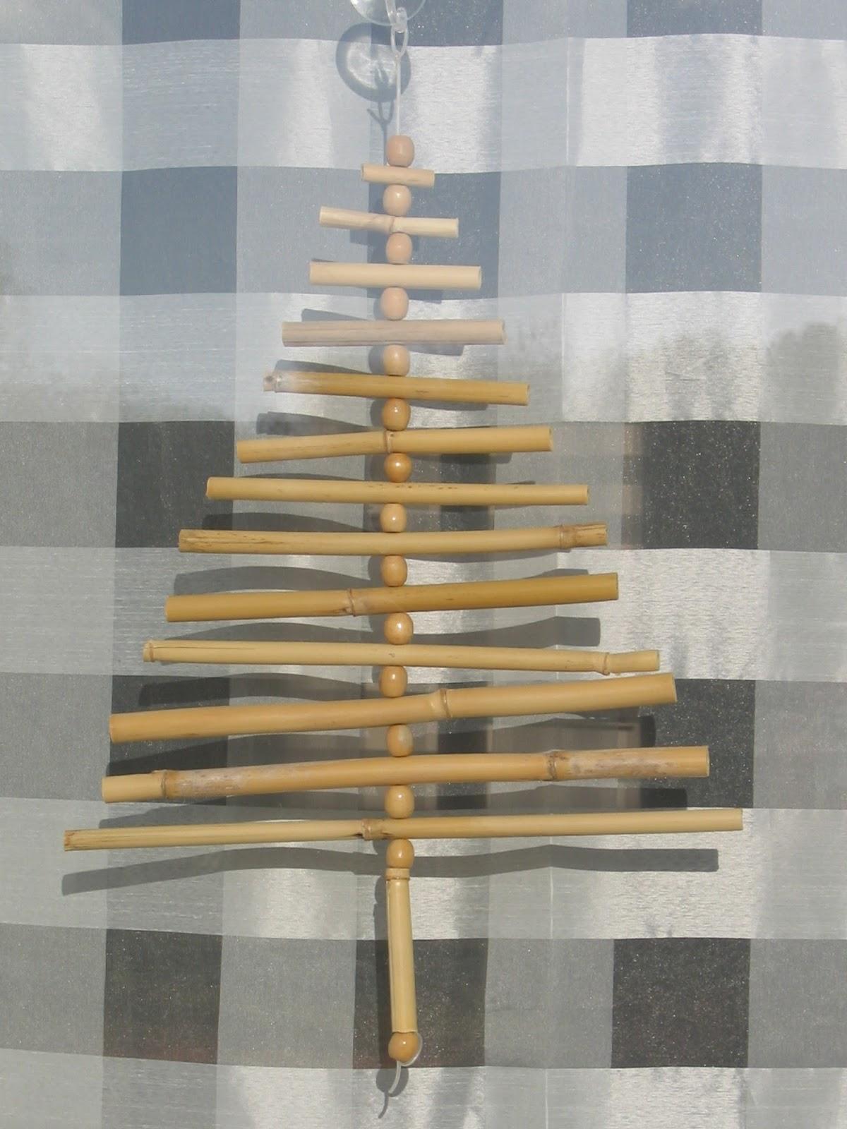 100 Remarquable Suggestions Faire Un Sapin De Noel En Bambou