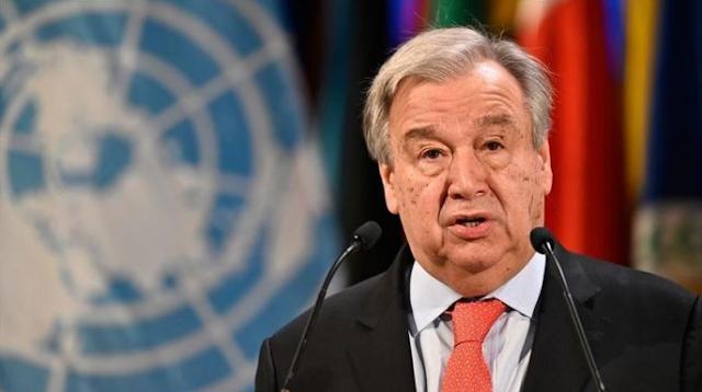 """الأمين العام للأمم المتحدة يدعو الإسرائيليين والفلسطينيين إلى """"إعادة الأمل"""" في حل الدولتين"""