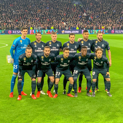 Real Madrid CF vs Ajax Champions League