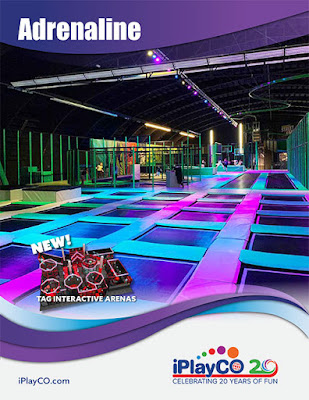 Adrenaline, Trampolines, Ninja Courses, TAG Active, iPlayCO