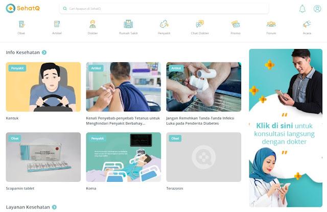 Pusat Informasi Kesehatan Terlengkap Di Indonesia SehatQ.com