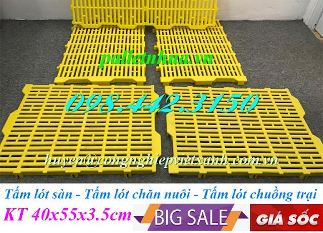 Tấm lót sàn 40x55x3.5cm