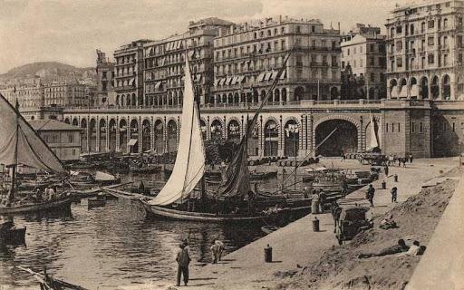 Le quartier de la marine (Alger)