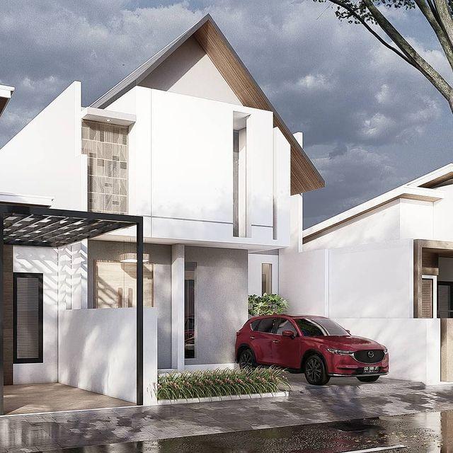 desain rumah bagian depan