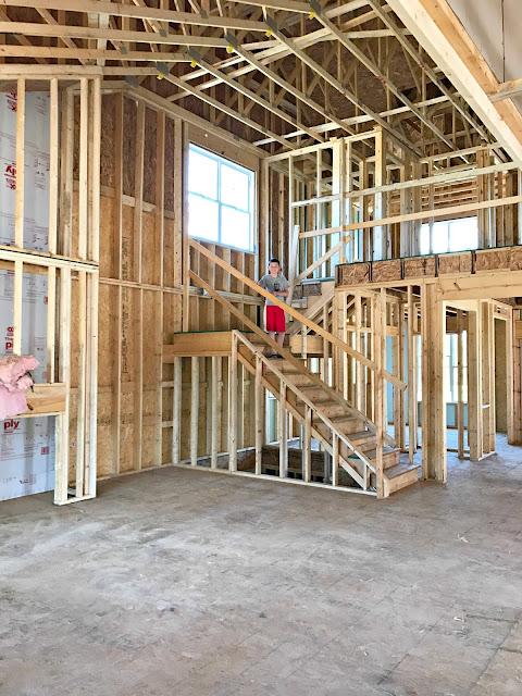 open concept staircase