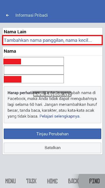 cara membuat akun facebook error overlite