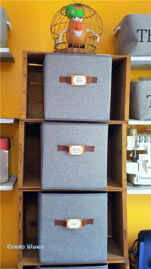 diy craft room storage idea
