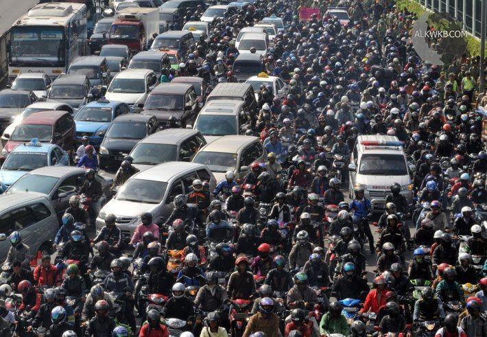 Jakarta Indonesia Traffic