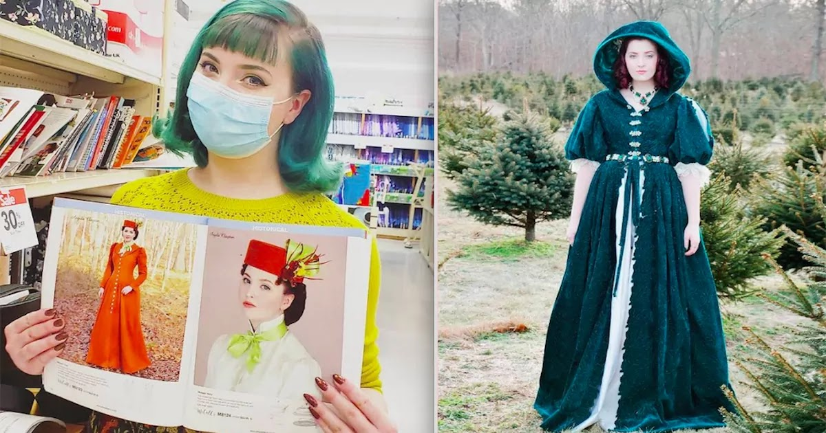 This 21-Year-Old Seamstress Creates Amazing New Dresses Based On Historical Styles