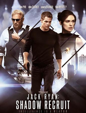 Poster Of Jack Ryan: Shadow Recruit 2014 In Hindi Bluray 720P Free Download