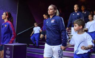European footballing great Eugénie Le Sommer is the UEFA Foundation for Children's first female ambassador