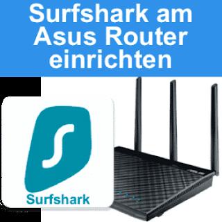 Surfshark auf VPN-Router einrichten