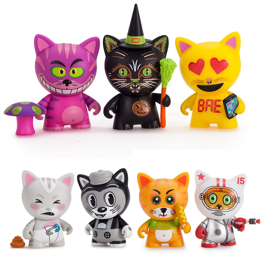 The Blot Says Tricky Cats Blind Box Series By Kidrobot