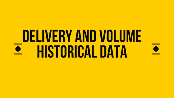 Delivery and volume historical data