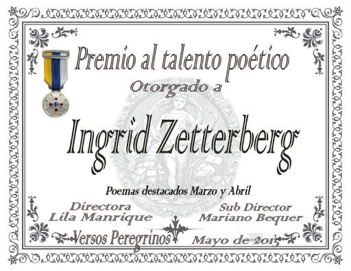 """Premio al Talento Poético en el foro """"Tierra de poetas"""""""