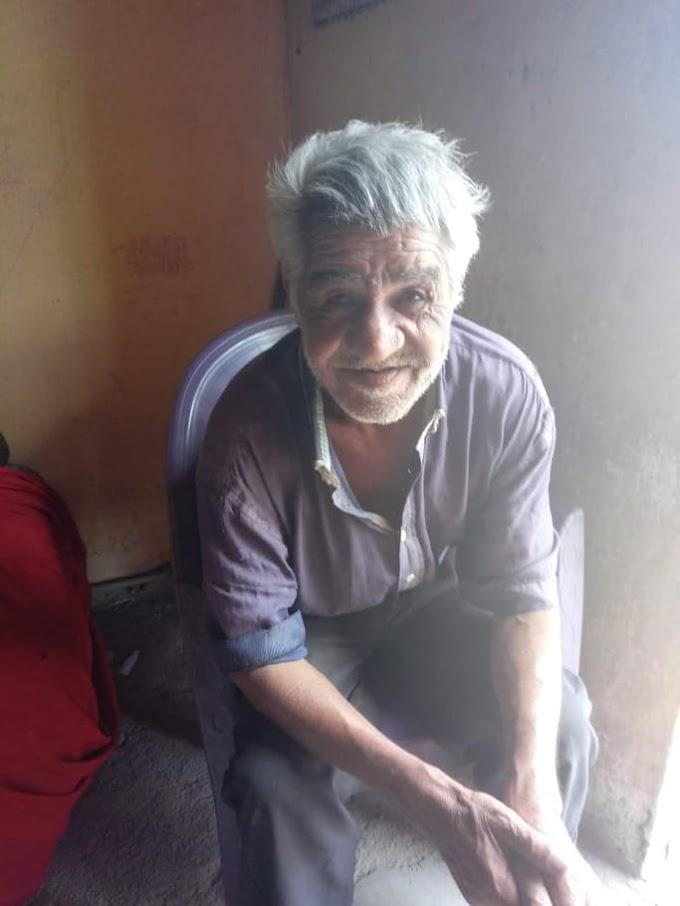 Faleceu o Sr. Manoel Ferreira irmão de Zé da Antena