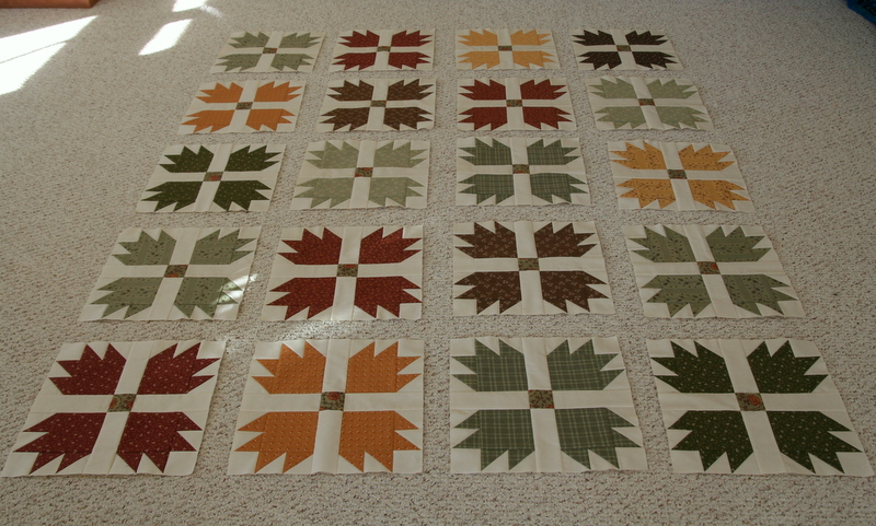 Quilts Of A Feather Bear Paw Quilt Update Finally