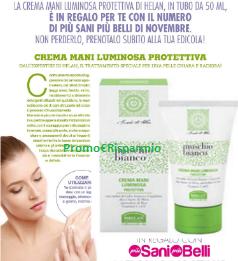 Logo Più Sani Più Belli ti regala la Crema Mani Helan